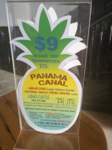 Panama discounted tour flyer